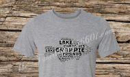 Crappie T-Shirt Dark Print