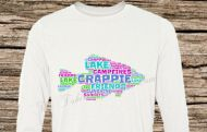 Crappie T-Shirt Colored Print