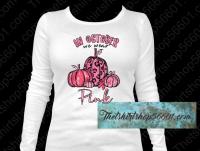 In October We wear Pink Pumpkins